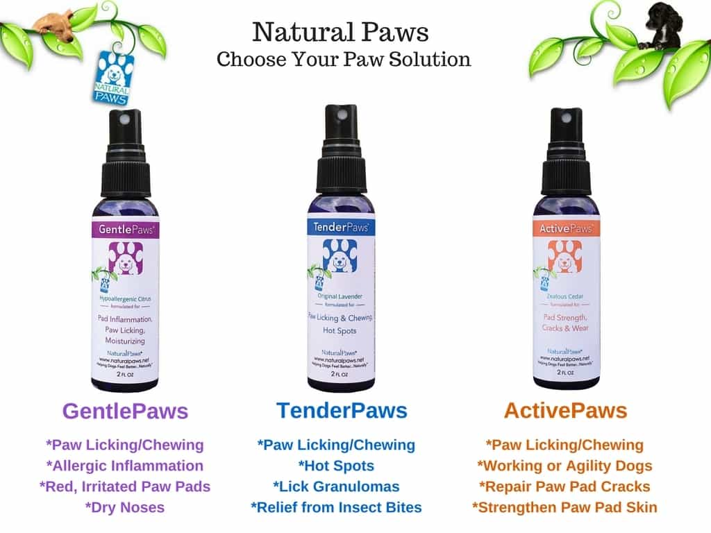 Sweet Pea's GentlePaws | Soothing Spray for Allergic Paws